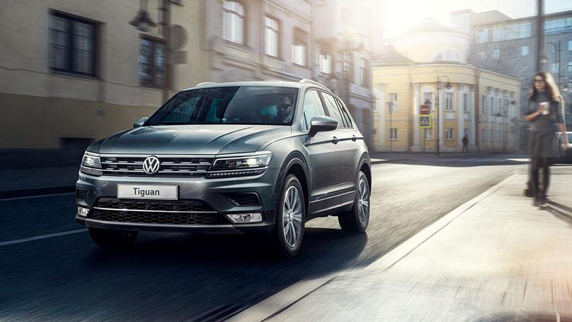 Экстерьер кроссовера Volkswagen Tiguan